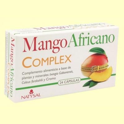 Mango Africano - 24 cápsulas - Natysal