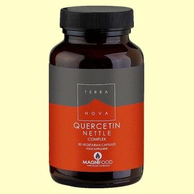 Quercitina Ortiga Complex - 50 cápsulas - Terra Nova
