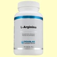 L-Arginina 700 mg - 100 cápsulas - Laboratorios Douglas