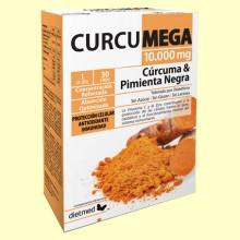 Curcumega Max - 30 cápsulas - DietMed