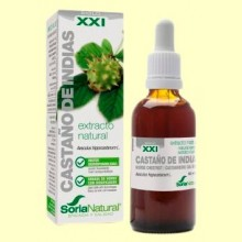 Castaño de Indias Fórmula XXI - Extracto de Glicerina Vegetal - 50 ml - Soria Natural