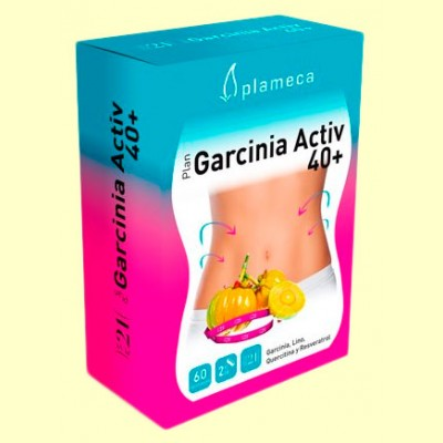 Plan Garcinia Activ 40+ - 60 cápsulas - Plameca