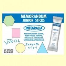 Memorandum Junior Sticks - 20 sticks - Integralia