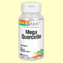Mega Quercetin - 60 cápsulas - Solaray