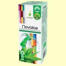 Novaloe - Jugo de Aloe Vera Eco - 1 litro - Novadiet