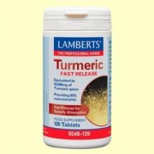Cúrcuma de Liberación Rápida - 120 tabletas - Lamberts