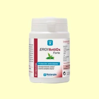 ErgyAntiox Forte - Vitaminas C y Antioxidantes - 60 cápsulas - Nutergia