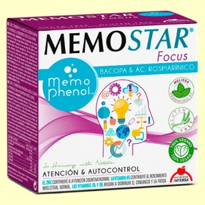 Memostar Focus - 30 sobres - Intersa
