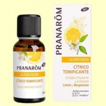 Cítrico Tonificante Bio - Difusión - 30 ml - Pranarom