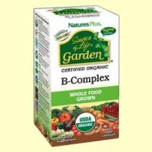 Garden B Complex - 60 cápsulas - Natures Plus