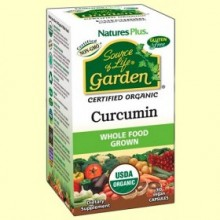 Garden Curcuma 400 mg - 30 cápsulas - Natures Plus