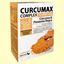 Curcumax Complex - 30 cápsulas - DietMed