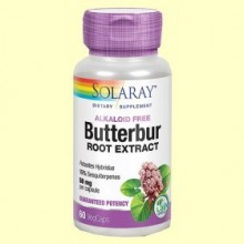 Petasita - Butterbur - 60 cápsulas vegetales - Solaray