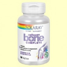 Collagen Bone Complete - 100 cápsulas vegetales - Solaray