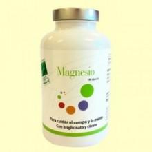 Magnesio - 180 cápsulas - 100% Natural