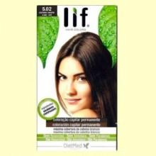 Tinte Cabello Lif Hair Colors 5.02 - Castaño Marrón - 1 kit - DietMed