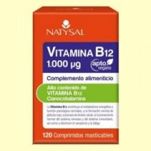 Vitamina B12  - 120 cápsulas - Natysal