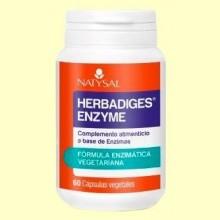 Herbadiges Enzyme - 60 cápsulas - Natysal