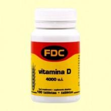 Vitamina D - 100 Tabletas - Bioener