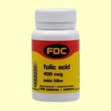 Vitamina B-9 - 100 Tabletas - Bioener