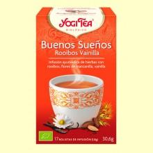 Buenas Noches Rooibos Vainilla Bio - 17 infusiones - Yogi Tea