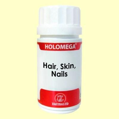 HoloMega - Hair - Skin - Nails - Equisalud - 50 cápsulas