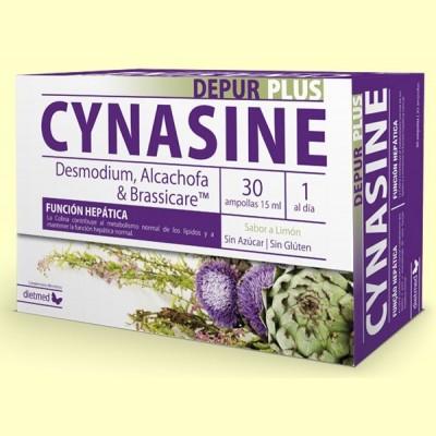 Cynasine Depur Plus - 30 ampollas - Dietmed
