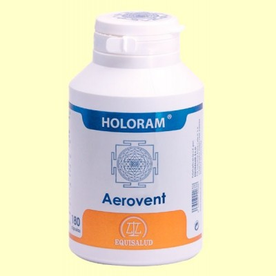 HoloRam Aerovent - 180 cápsulas - Equisalud