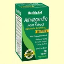 Ashwagandha (Withania Somnifera) - 60 Comprimidos - Health Aid