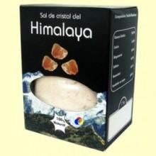 Sal de Cristal Rosa del Himalaya Fina - 1 kg - Tierra 3000