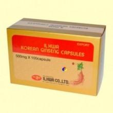Ginseng Coreano IL HWA - 100 cápsulas blister - Tongil