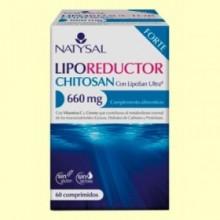 Liporeductor Chitosan Forte - 60 comprimidos - Natysal