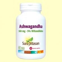Ashwagandha - 30 cápsulas - Sura Vitasan *