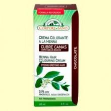 Cubre Canas Henna Chocolate - 60 ml - Corpore Sano