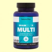 Brainceutix Multi - 90 cápsulas - Natures Plus *