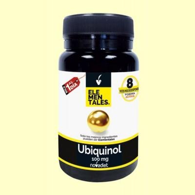 Ubiquinol 100 mg - 30 cápsulas - Novadiet