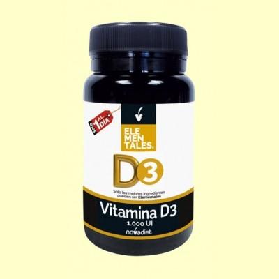Vitamina D3 - 120 cápsulas - Novadiet
