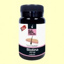 Biotina - 120 cápsulas - Novadiet