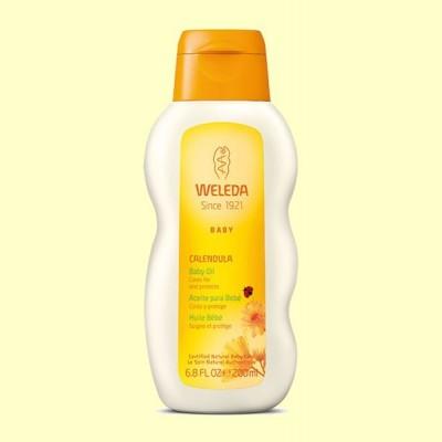 Calendula Aceite para Bebé - Cuida y protege - 200 ml - Weleda