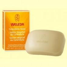 Jabón vegetal de Caléndula - 100 gramos - Weleda