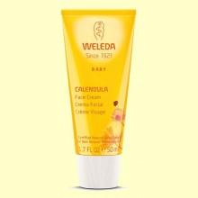 Calendula Crema Facial Baby - Hidrata y protege - 50 ml - Weleda