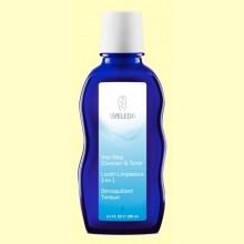 Loción limpiadora 2 en 1 - 100 ml - Weleda