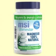 Magnesio Bienestar Natural con Colágeno - 60 cápsulas - MSI