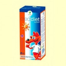Crecidiet Appétit - Elixir Multivitamínico - 250 ml - Novadiet
