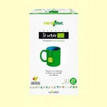Herbodiet Té Verde Eco - 20 ud - Novadiet