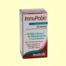 Immuprobio (50000 millones) - 30 cápsulas vegetales - Health Aid