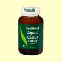 Sauzgatillo - Polvo de baya - 60 comprimidos - Health Aid