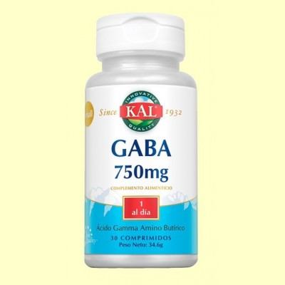 Small Gaba 750 mg - 30 cápsulas - Laboratorios KAL