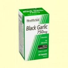 Ajo negro 750 mg - 30 cápsulas - Health Aid