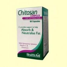 Chitosan Complex - Control del peso - 90 cápsulas - Health Aid